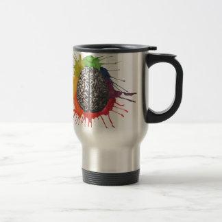 Intercambio de ideas taza de café