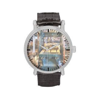 Intercambio de la alisadora plana relojes de pulsera