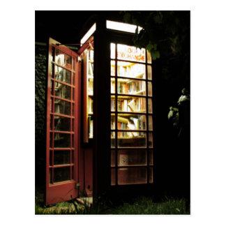 Intercambio de libro postales