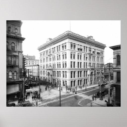 Intercambio de producción de Toledo: 1899 Póster