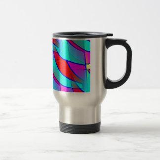 Intercambio más adelante tazas de café