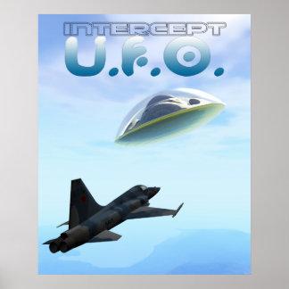 Intercept UFO Poster