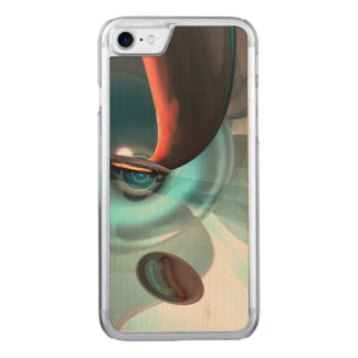 Interception Abstract Carved iPhone 8/7 Case