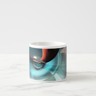 Interception Abstract Espresso Cup