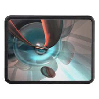 Interception Abstract Hitch Cover