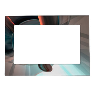 Interception Abstract Magnetic Photo Frame