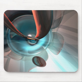 Interception Abstract Mouse Pad