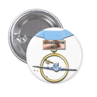 Interceptor Ace medal button