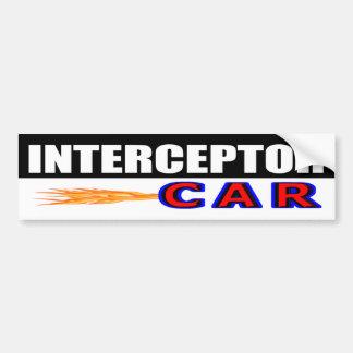 Interceptor Car Bumper Sticker