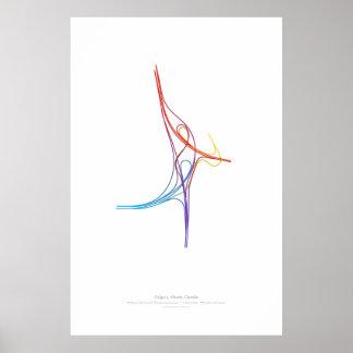 Interchange Choreography: Calgary, AB, CA Poster