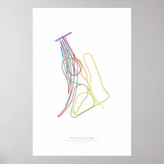 Interchange Choreography: Detroit, MI, US Poster