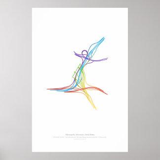Interchange Choreography: Minneapolis, MN, US Poster