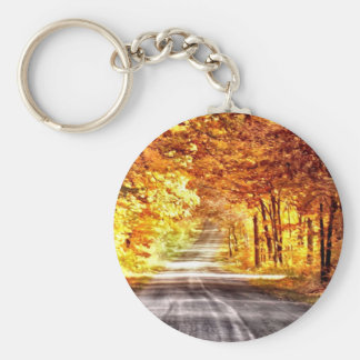 Interchange of Light and Colour Keychain