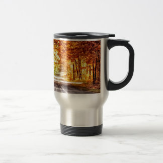 Interchange of Light and Colour Travel Mug