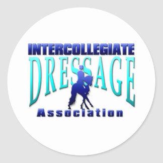 Intercollegiate Dressage Association Classic Round Sticker