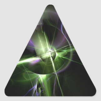 Interconnected Triangle Sticker