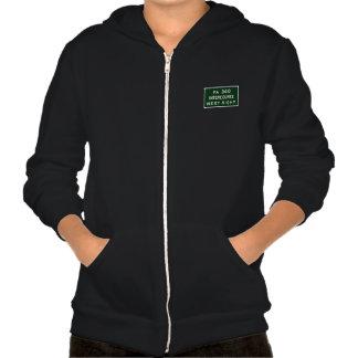 Intercourse, Road Marker, Pennsylvania, USA Hooded Sweatshirt