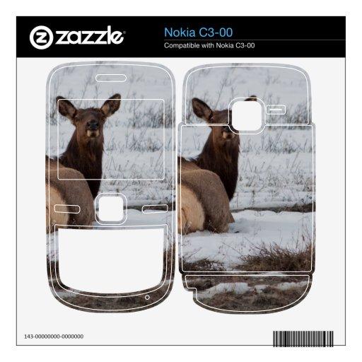 Interés de los alces nokia c3-00 skins