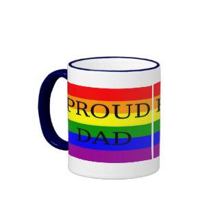 Interés gay taza a dos colores