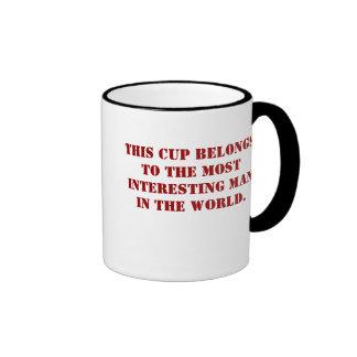 Interesing man cup. ringer mug
