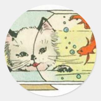 Interested Classic Round Sticker