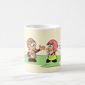 Interested love coffee mug