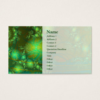 Interesting Abstract Art Business Card