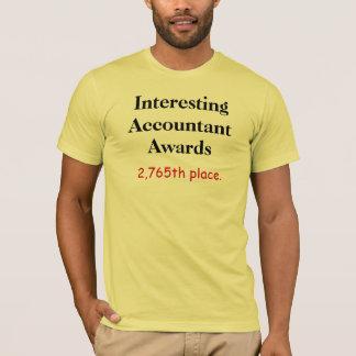 Interesting Accountant Awards Accounting Joke T-Shirt