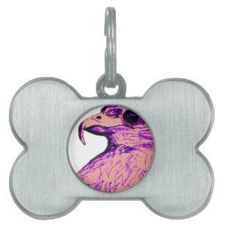 Interesting Bird Pet ID Tag