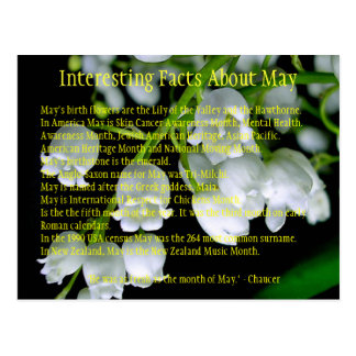 Interesting Facts About May Postcard