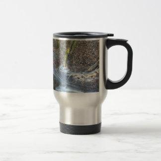 Interesting Ice Cracks Travel Mug