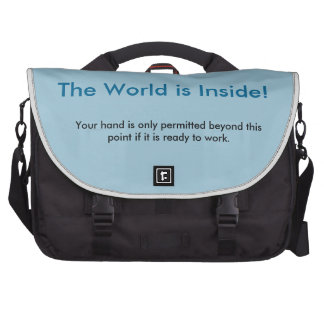 Interesting, simple yet creative laptop bag! laptop messenger bag