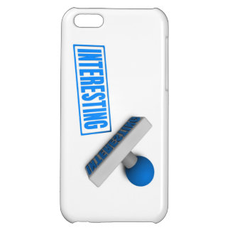 Interesting Stamp or Chop on Paper Concept Case For iPhone 5C