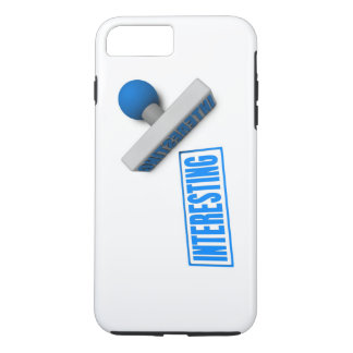 Interesting Stamp or Chop on Paper Concept iPhone 7 Plus Case