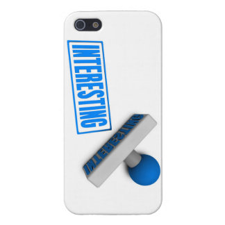 Interesting Stamp or Chop on Paper Concept iPhone SE/5/5s Cover