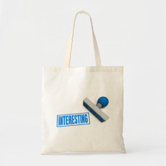 Interesting Stamp or Chop on Paper Concept Tote Bag