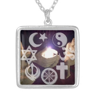 Trident of lord shiva hinduism silver plated necklace zazzle aloadofball Images