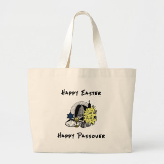 Interfaith Easter and Passover Canvas Bags