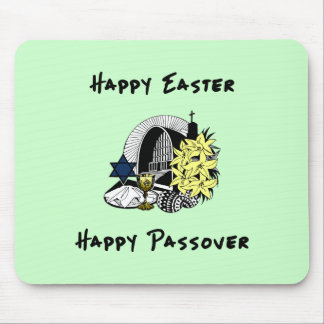 Interfaith Easter and Passover Mousepad