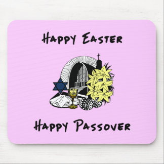 Interfaith Easter and Passover Mousepads