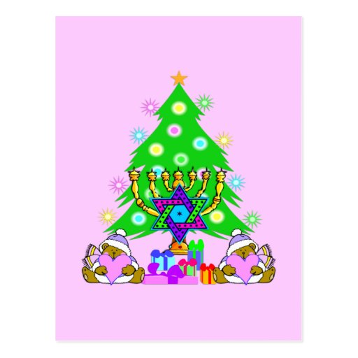 Interfaith Holiday Fun Postcards