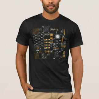 Interfaz persona-ordenador de Streetwear de la Playera