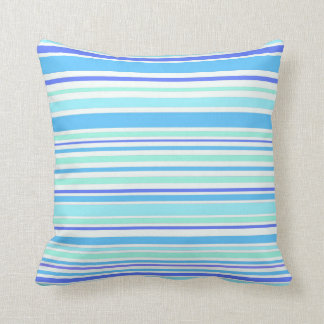 Interference (ocean) throw pillow