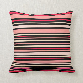 Interference (tomato) throw pillow