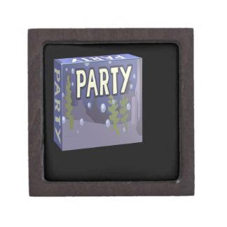 Interferencia: acuario del paquete del fiesta cajas de joyas de calidad