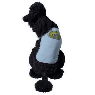 Interferencia: ciudadano decente del logro playera sin mangas para perro