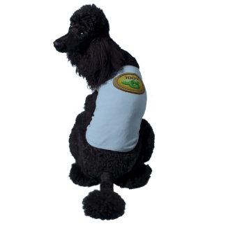 Interferencia: contador de haba del logro playera sin mangas para perro