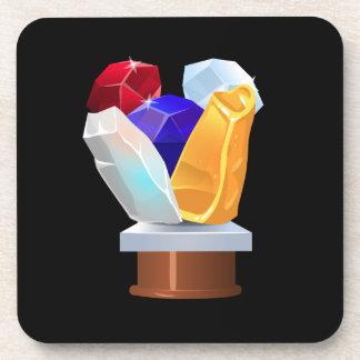 Interferencia: gemas de la colección del logro posavasos