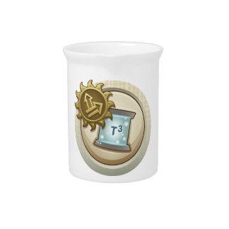 Interferencia: la habilidad del emblema del logro jarron