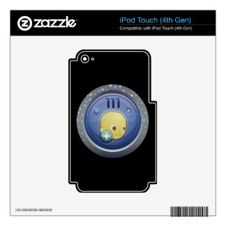 Interferencia: logro mejor PAL iPod Touch 4G Skin